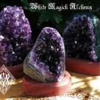 Crystal Shows on the White Magick Alchemy Facebook Page