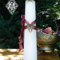 Pagan and Wiccan Memorial Candles ~ Sacred Memorial Torch Light Candles