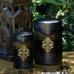 Freyja Goddess Warrior Pillar Candles. Norse Goddess Magick