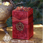 Haunted Harvest Heartwood Candles for Samhain and Halloween