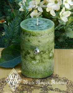 Witches Apple Candle Magic