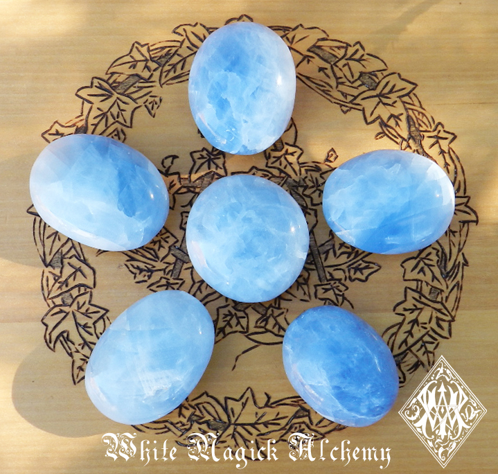 Blue gemstones Blue Moon Rituals