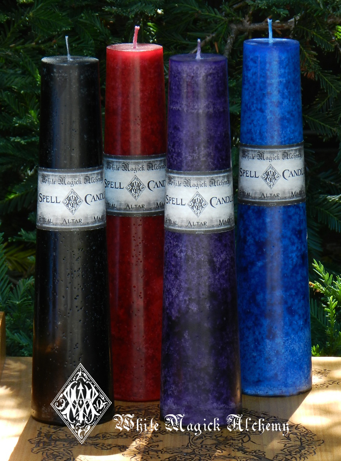 Altar Spell Candle Sets White Magick Alchemy