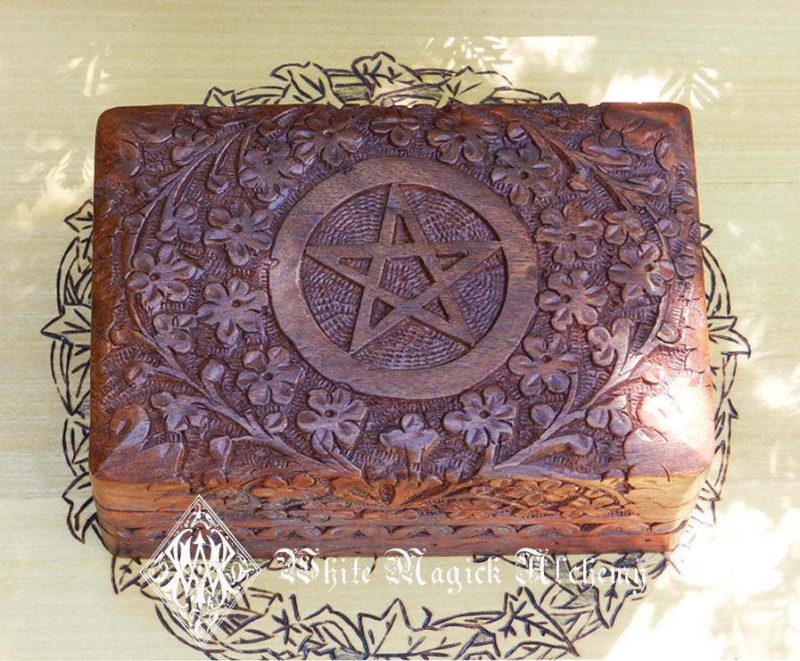 Altar box white magick alchemy