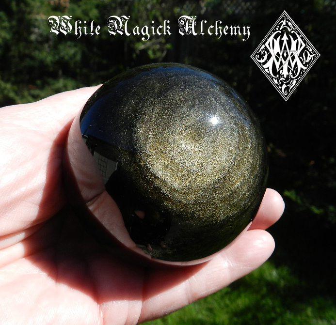 Black Obsidian White Magick Alchemy