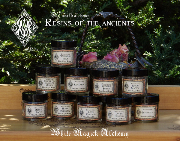 Resin and Incense White Magick Alchemy