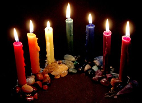 Color Correspondencces for Candle Magic