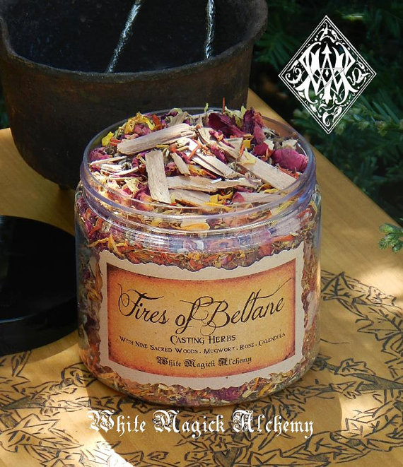 Fires of Beltane Incense Casting Herbs