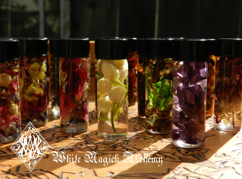 Magic Spell Oils Ritual WItchcraft