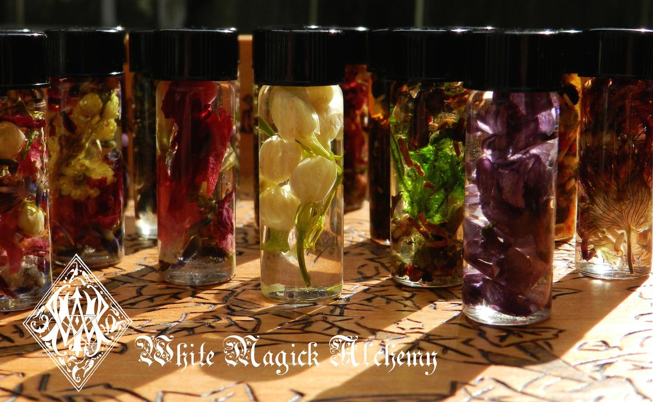 Mini Perfume Oils Spell Ritual